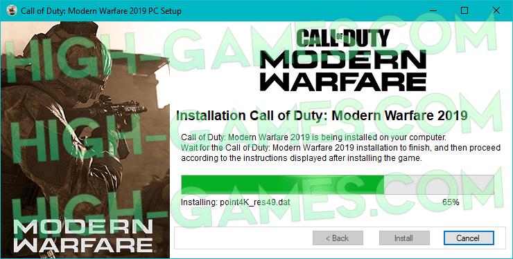 download call of duty modern warfare 2019 free