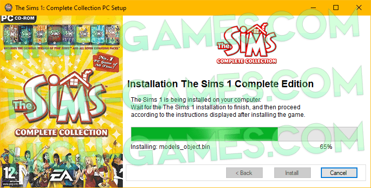 download The Sims 1 free