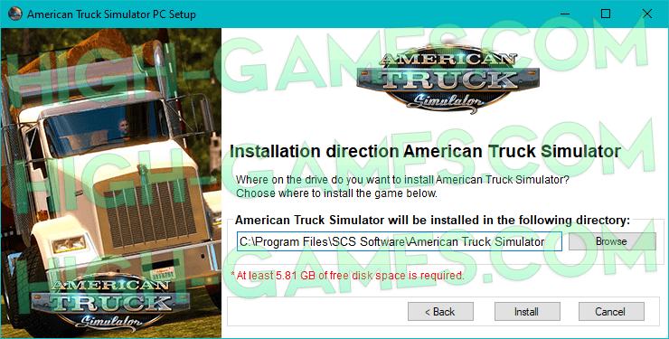 American Truck Simulator full version download