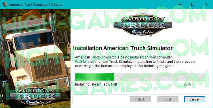 American Truck Simulator full game download pc