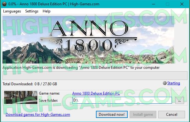 Anno 1800 download pc