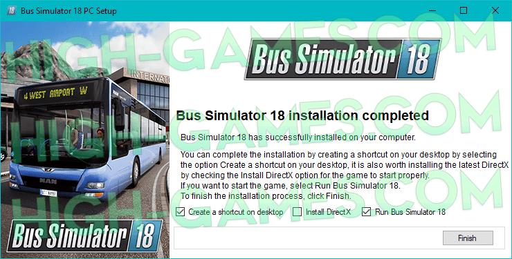 Bus Simulator 18 full version pc