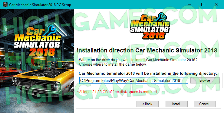 Car Mechanic Simulator 2018 full version download