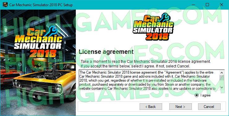 XCar Mechanic Simulator 2018 download pc