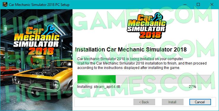 Car Mechanic Simulator 2018 full game download pc