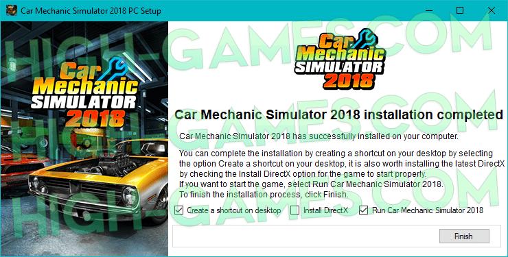 Car Mechanic Simulator 2018 full version pc