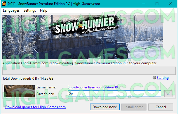 SnowRunner download pc