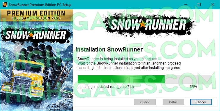 download SnowRunner free