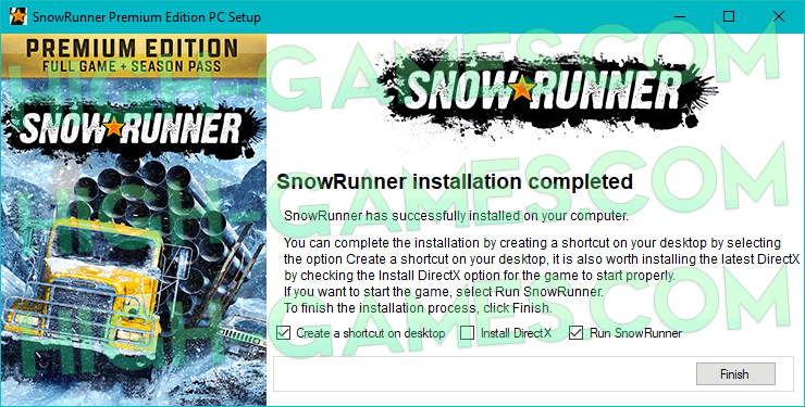 SnowRunner full version pc
